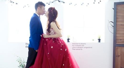 【台灣婚紗】高雄婚紗店的手工婚紗相當有質感,是我遇到評價及價錢最好的禮服出租店了!
